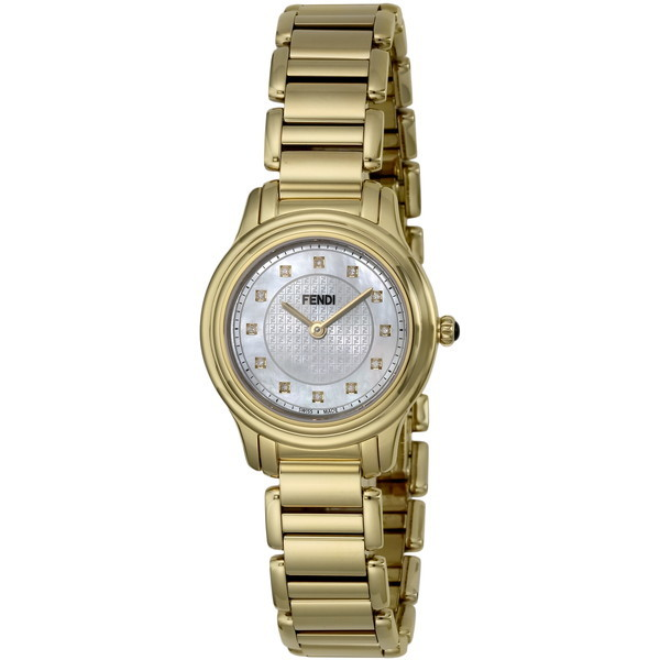 【送料無料】FENDI F251424500D1 ホワイトパール クラシコラウンド [クォーツ腕時計(レディースウオッチ)] 【並行輸入品】