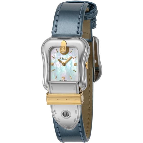 【送料無料】FENDI F380124531D1 ホワイトパール B.FENDI [クォーツ腕時計(レディースウオッチ)] 【並行輸入品】