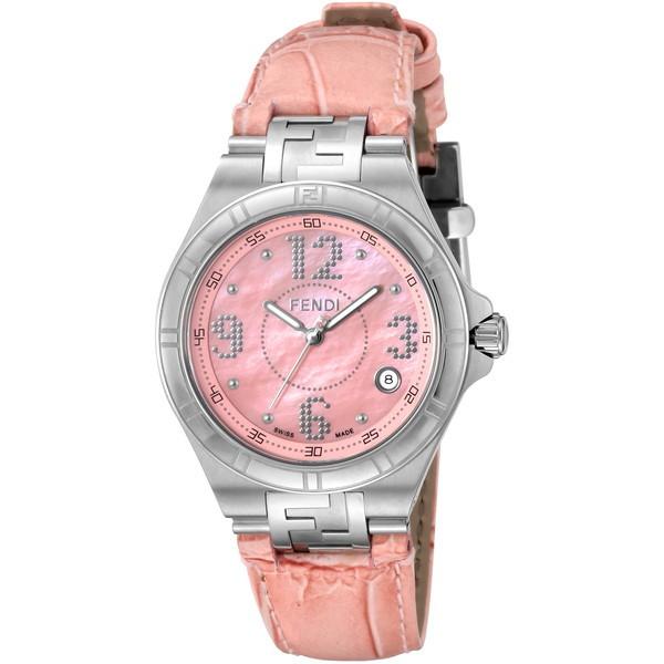 【送料無料】FENDI F414377 ピンク ハイスピード [クォーツ腕時計(レディースウオッチ)] 【並行輸入品】