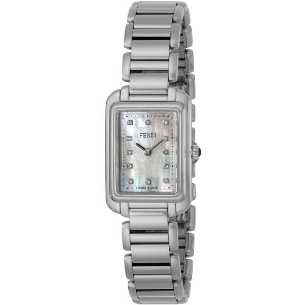 【送料無料】FENDI F703024500D1 ホワイトシェル クラシコレクタンギュラー [クォーツ腕時計(レディースウオッチ)] 【並行輸入品】