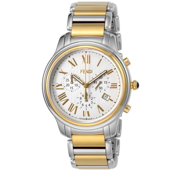 【送料無料】FENDI F252114000 クラシコクロノ [腕時計 メンズ クオーツ] 【並行輸入品】