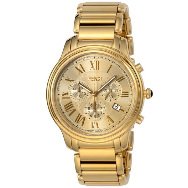 【送料無料】FENDI F252415000 クラシコクロノ [腕時計 メンズ クオーツ] 【並行輸入品】