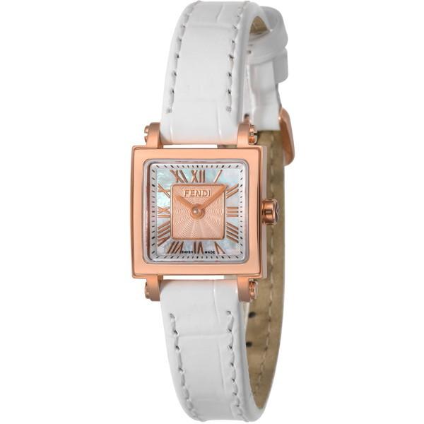 【送料無料】FENDI F604524541 ホワイトパール クアドロ ミニ [クォーツ腕時計(レディースウオッチ)] 【並行輸入品】