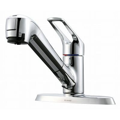 タカギ JL256MK エコシリーズ [蛇口一体型浄水器 みず工房 2ホール水栓(2穴用) 寒冷地仕様]