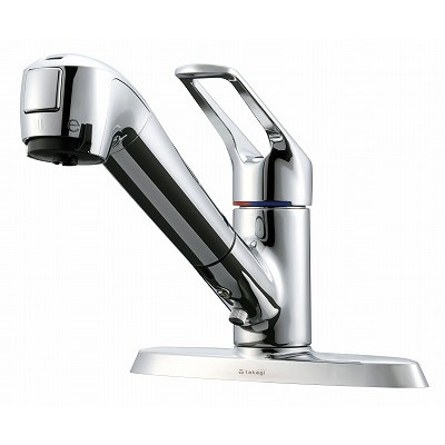 【送料無料】タカギ JL256MN エコシリーズ [蛇口一体型浄水器 みず工房 2ホール水栓(2穴用)]
