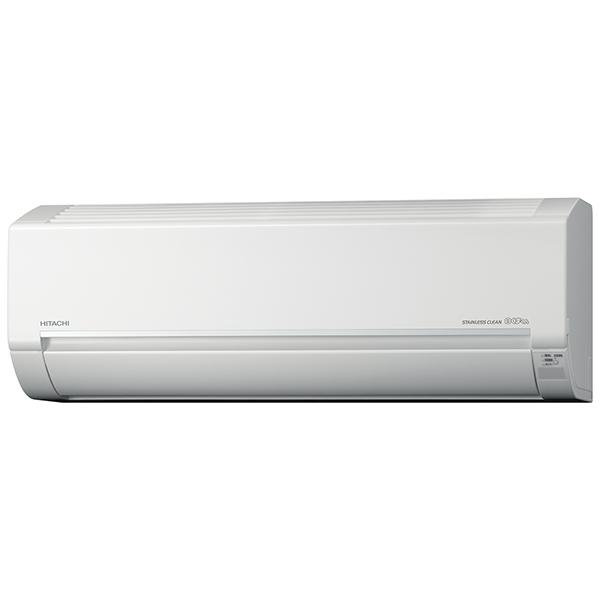 【送料無料】日立 RAS-D40H2 クリアホワイト ステンレス・クリーン 白くまくん Dシリーズ [エアコン(主に14畳用・単相200V)]