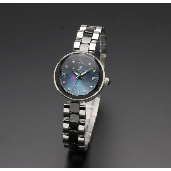 Salvatore Marra SM17153-SSBKR [クォーツ腕時計(レディース)]