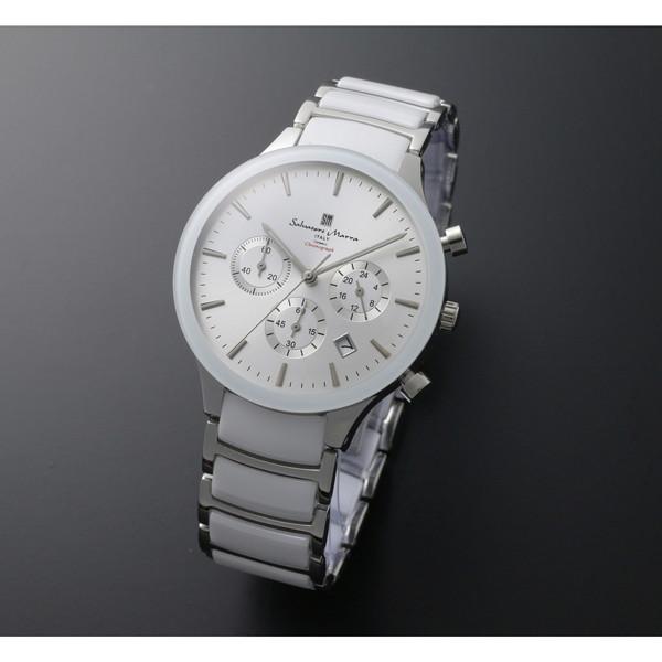 【送料無料】Salvatore Marra SM17121-SSWH [クォーツ腕時計(メンズ)]