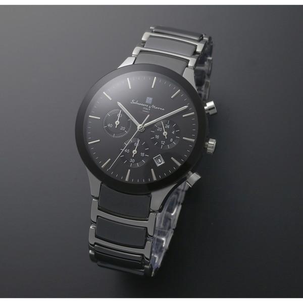 【送料無料】Salvatore Marra SM17121-SSBK [クォーツ腕時計(メンズ)]