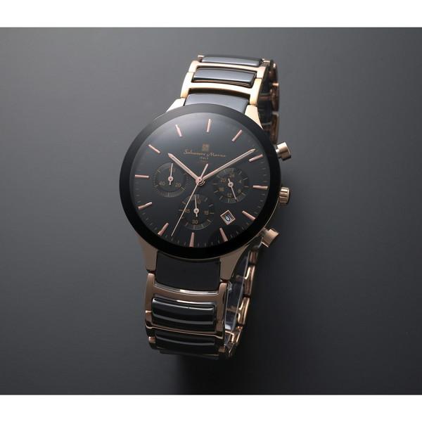 【送料無料】Salvatore Marra SM17121-PGBK [クォーツ腕時計(メンズ)]