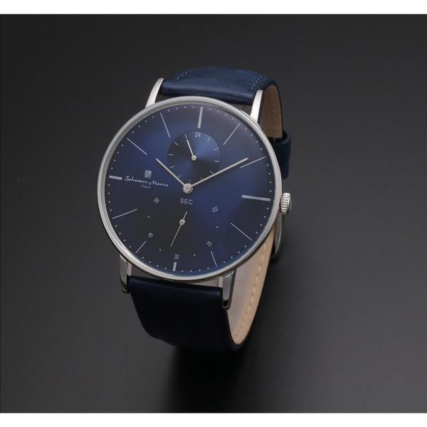 【送料無料】Salvatore Marra SM18103-SSBL [クォーツ腕時計(メンズ)]