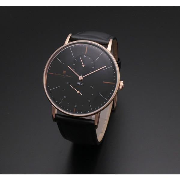 【送料無料】Salvatore Marra SM18103-PGBK [クォーツ腕時計(メンズ)]