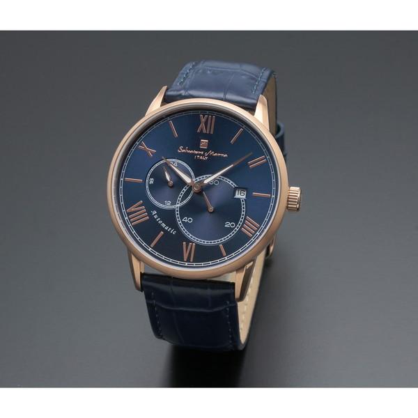 【送料無料】Salvatore Marra SM18104-PGBL [自動巻き腕時計(メンズ)]
