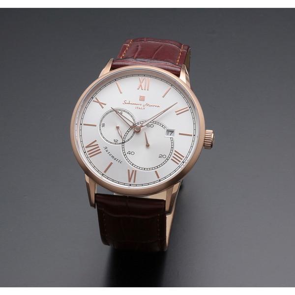 【送料無料】Salvatore Marra SM18104-PGSV [自動巻き腕時計(メンズ)]