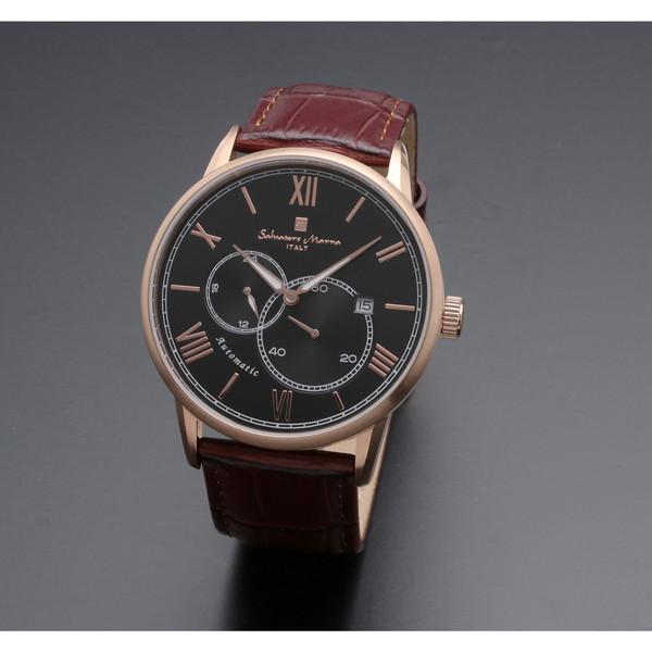 【送料無料】Salvatore Marra SM18104-PGBK [自動巻き腕時計(メンズ)]