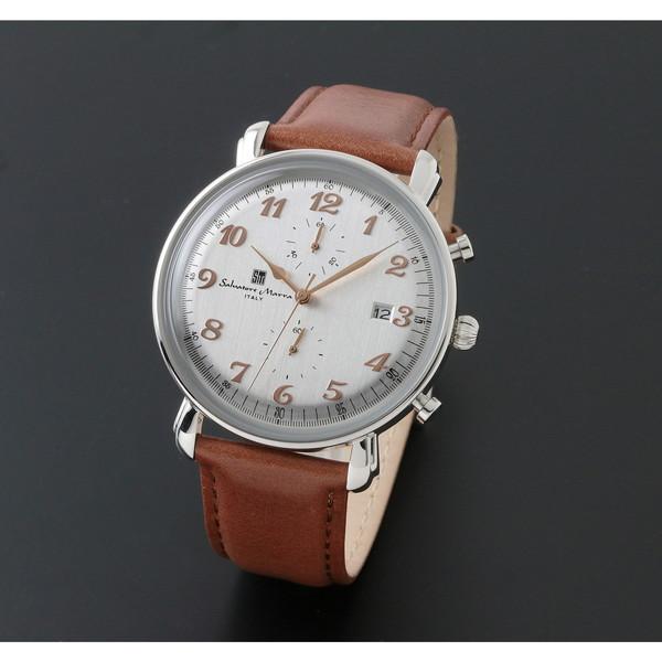 【送料無料】Salvatore Marra SM18109-SSWH [クォーツ腕時計(メンズ)]