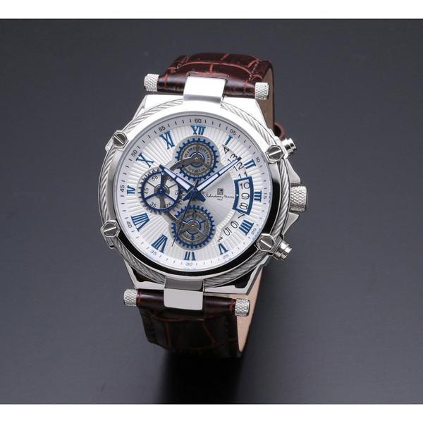 Salvatore Marra SM18102-SSWH [クォーツ腕時計(メンズ)]