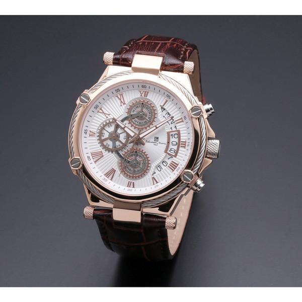Salvatore Marra SM18102-PGWH [クォーツ腕時計(メンズ)]