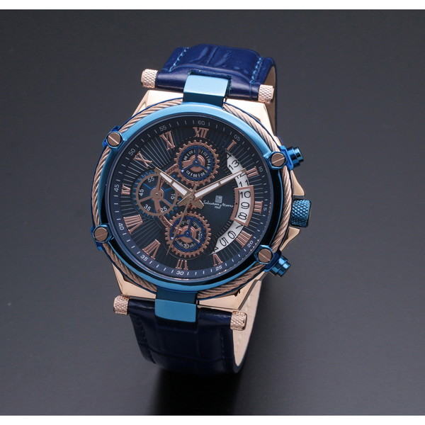 Salvatore Marra SM18102-PGBL [クォーツ腕時計(メンズ)]
