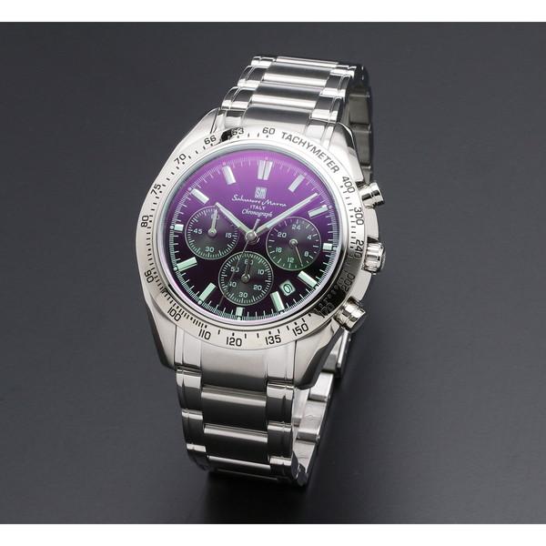 【レビューを書けば送料当店負担】 【送料無料】Salvatore Marra SM18106-SSBKSV [クォーツ腕時計(メンズ)], 西興部村 3147d991