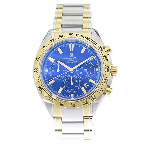 Salvatore Marra SM18106-SSBLGD [クォーツ腕時計(メンズ)]