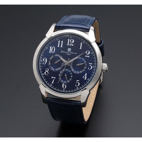 【送料無料】Salvatore Marra SM18107-SSBL [クォーツ腕時計(メンズ)]