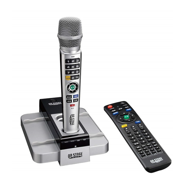 ON STAGE PK-XA03W [パーソナルカラオケ] カラオケ ワイヤレス マイク リモコン 採点 テレビ