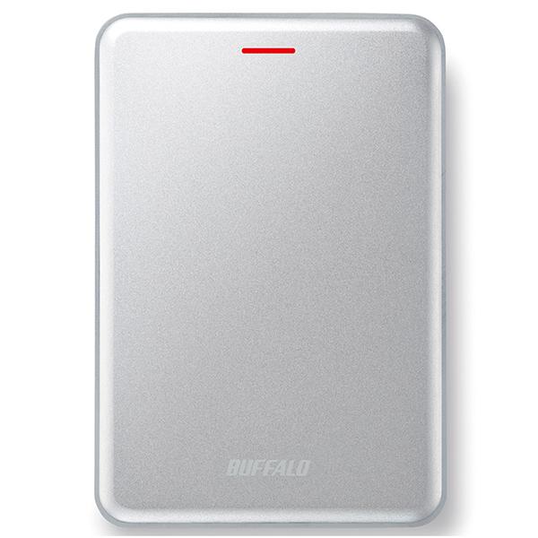 【送料無料】BUFFALO SSD-PUS240U3-S シルバー [ポータブル外付けSSD(240GB)]