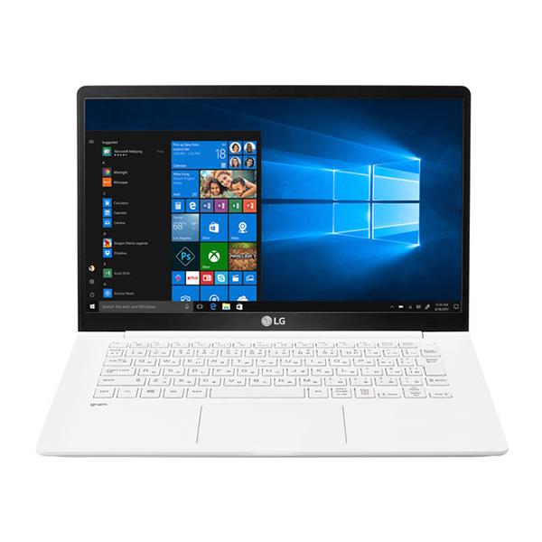 【送料無料】LGエレクトロニクス 14Z980-GA55J ホワイト LG gram [ノートパソコン 14.0型ワイド液晶 SSD256GB]