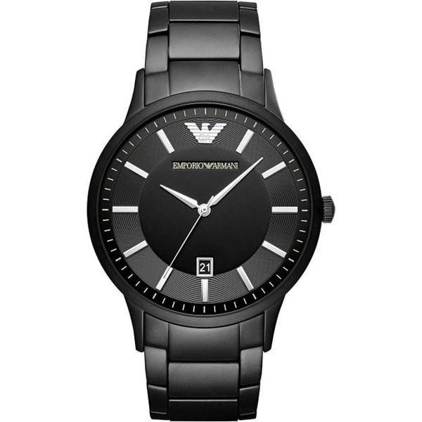 【送料無料】EMPORIO ARMANI(エンポリオ・アルマーニ) AR11079 ブラック KAPPA(カッパ) [クォーツ腕時計(メンズウオッチ)]【並行輸入品】