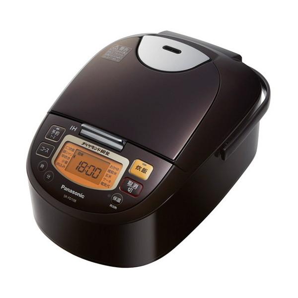 【送料無料】PANASONIC SR-FD108 ブラウン [IH炊飯器(5.5合炊き)]