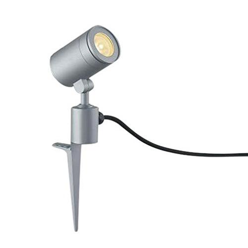 コイズミ AU43680L シルバー [LEDスポットライト(スパイク式 JDR50W相当 電球色/570lm)]