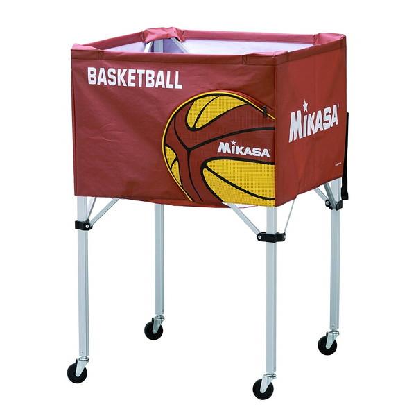 【送料無料】MIKASA BC-SP-H BB [ボールカゴバスケットボール ブラウン]