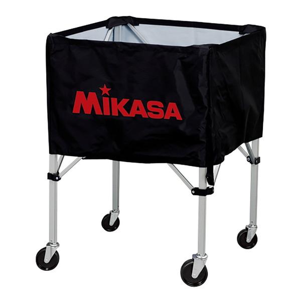 【送料無料】MIKASA BC-SP-HL BK [ボールカゴ3点セット 大型キャスター付 ブラック]