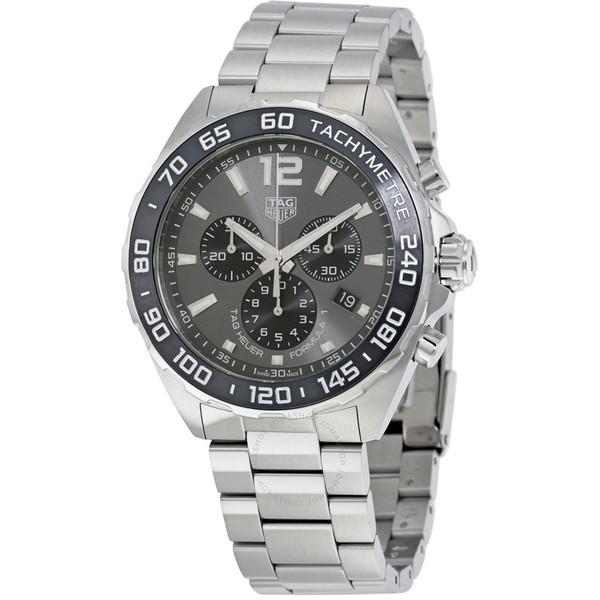 【送料無料】TAG HEUER(タグホイヤー) CAZ1011.BA0842 グレー×シルバー タグホイヤー フォーミュラ1 [クォーツ腕時計(メンズウオッチ)]【並行輸入品】