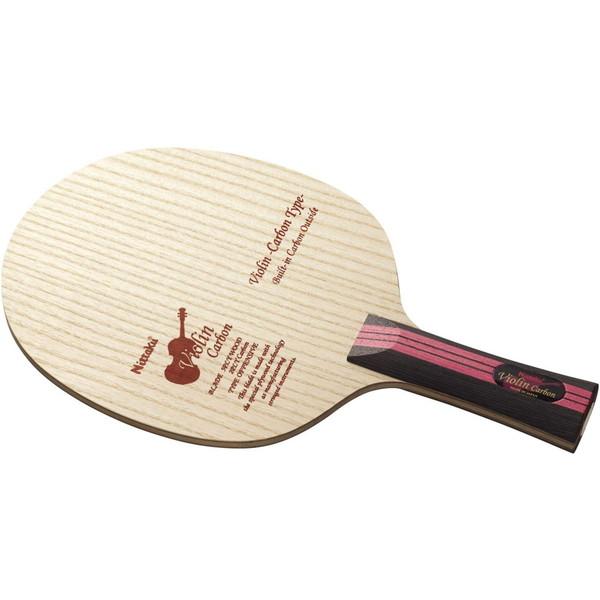 【送料無料】卓球 ラケット シェークハンド ニッタク(Nittaku) バイオリンカーボン FL 弦楽器シリーズ FEカーボン
