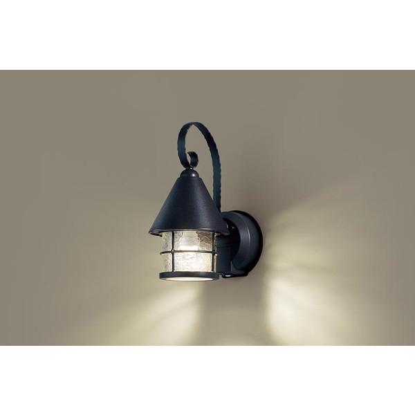 【送料無料】PANASONIC LGWC85044BK [LEDポーチライト(電球色) 防雨型 センサ機能]