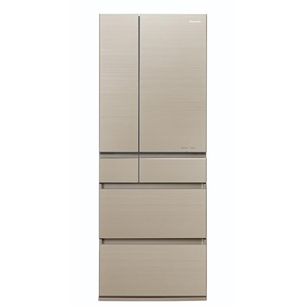 【送料無料】PANASONIC NR-F604HPX-N マチュアゴールド HPXタイプ [冷蔵庫 (600L・フレンチドア)] 【代引き・後払い決済不可】【離島配送不可】