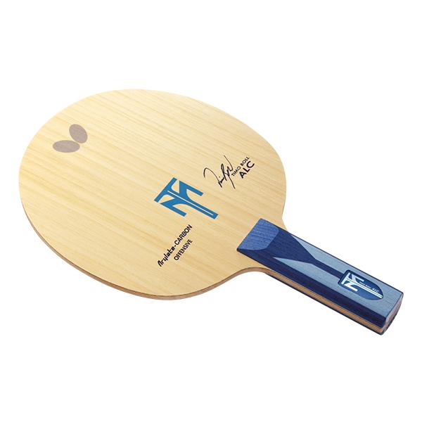 【送料無料】卓球 ラケット バタフライ(Butterfly) シェーク カーボン アウター ティモボル ALC ST 卓球ラケット 攻撃用シェーク ST(ストレート) 5枚合板+アリレートカーボン 卓球用品 ボル選手使用モデル
