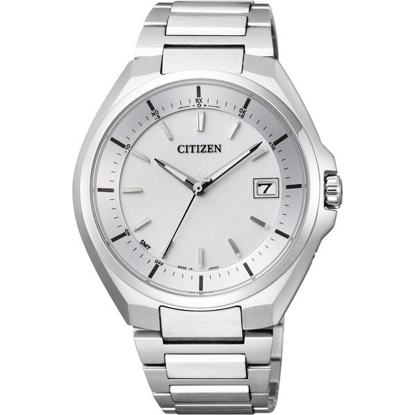 CITIZEN(シチズン) CB3010-57A シルバー アテッサ [エコ・ドライブ電波時計(メンズウオッチ)]