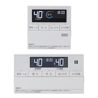 【送料無料】NORITZ RC-J112 マルチセット [ガスふろ給湯器用リモコンセット(浴室リモコン+台所リモコン)]