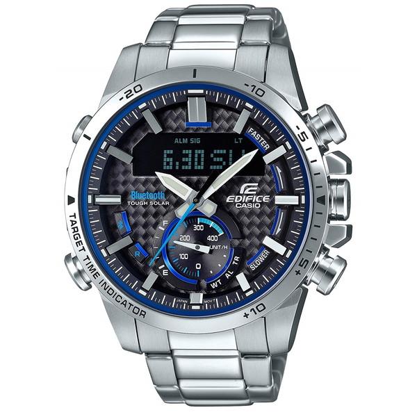 【送料無料】CASIO(カシオ) ECB-800D-1AJF エディフィス [ソーラー充電式腕時計(メンズ)]