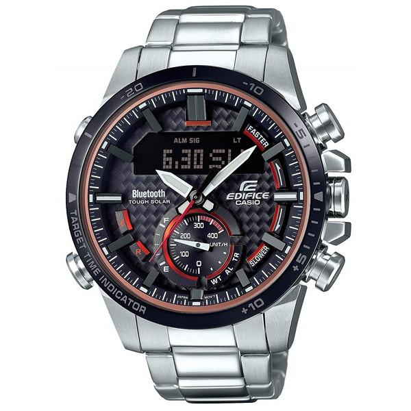 【送料無料】CASIO(カシオ) ECB-800DB-1AJF エディフィス [ソーラー充電式腕時計(メンズ)]