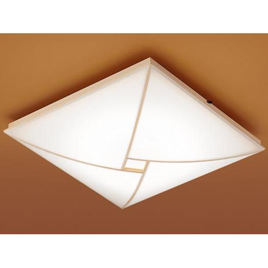 【送料無料】PANASONIC LGBZ1874 [和風LEDシーリングライト(~8畳/調色・調光)リモコン付き スクエアタイプ]