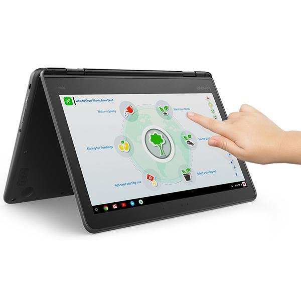 【送料無料】Lenovo 81H0000QJP 300e Chromebook [ノートパソコン 11.6型ワイド液晶 eMMC32GB]