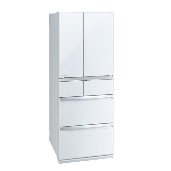 【送料無料】MITSUBISHI MR-WX47LD-W クリスタルホワイト 置けるスマート大容量 WXシリーズ[冷蔵庫 (470L・フレンチドア)] 【代引き・後払い決済不可】【離島配送不可】