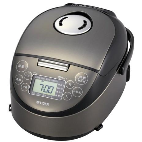 【送料無料】TIGER JPF-A550-K サテンブラック 炊きたて [IH炊飯ジャー(3合炊き)]