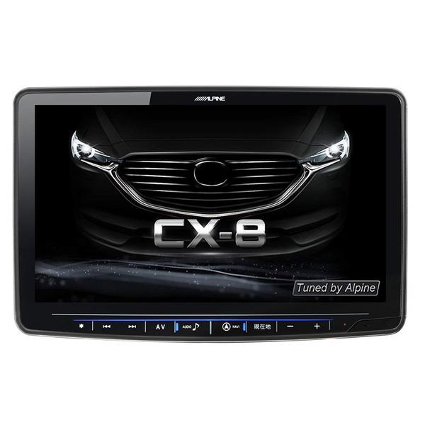 【送料無料】ALPINE XF11Z-CX8 フローティングビッグX 11 [11型 マツダCS-8専用 フルセグ対応 DVD-V CD Bluetooth SD カーナビ(Boseサウンド非対応)]
