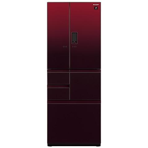 【送料無料】SHARP SJ-GX50E-R グラデーションレッド [冷蔵庫 (502L・フレンチドア)]