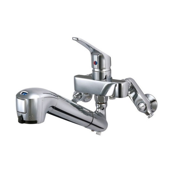 【送料無料】タカギ JL136AN-02 みず工房 エコシリーズ [蛇口一体型浄水器 壁出し混合水栓(固定型)]